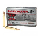 Munições de Caça Grossa Winchester 9.3x62 286 Gr Power Point