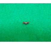 Ponto de mira LPA com rosca de 3mm Vermelho